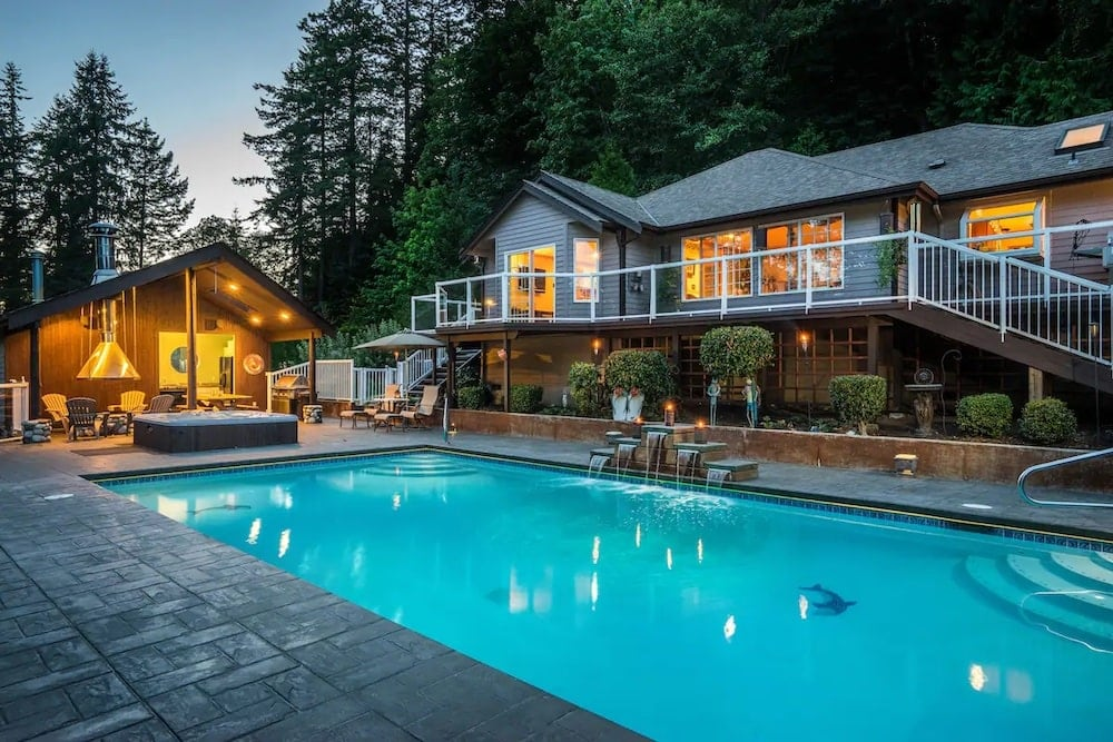 amazing family getaway airbnbs with pool
