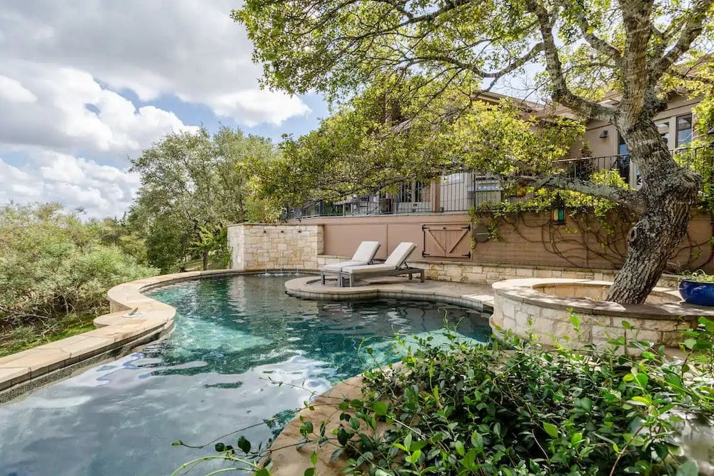 hill country retreat airbnbs with pool