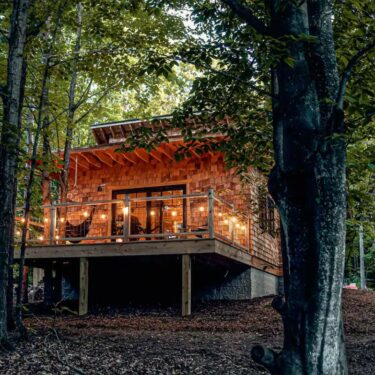 secluded michigan cabin rentals
