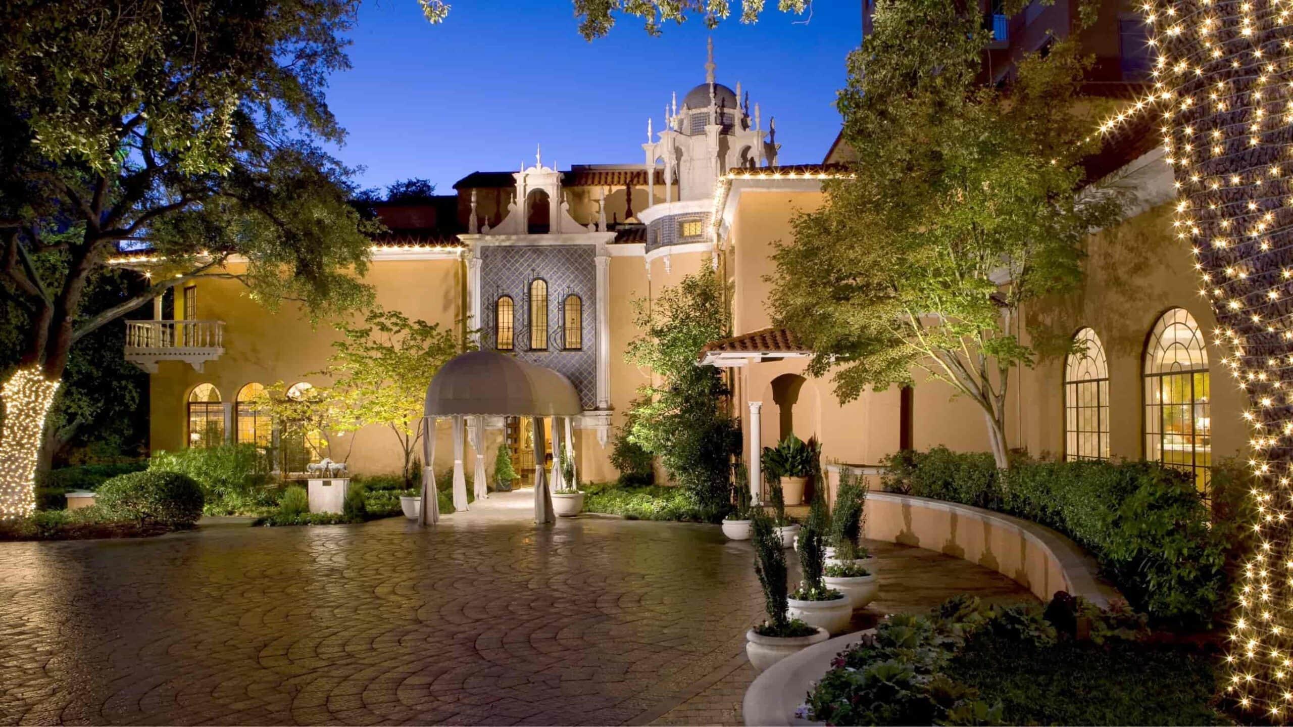 Rosewood Mansion on Turtle Creek texas