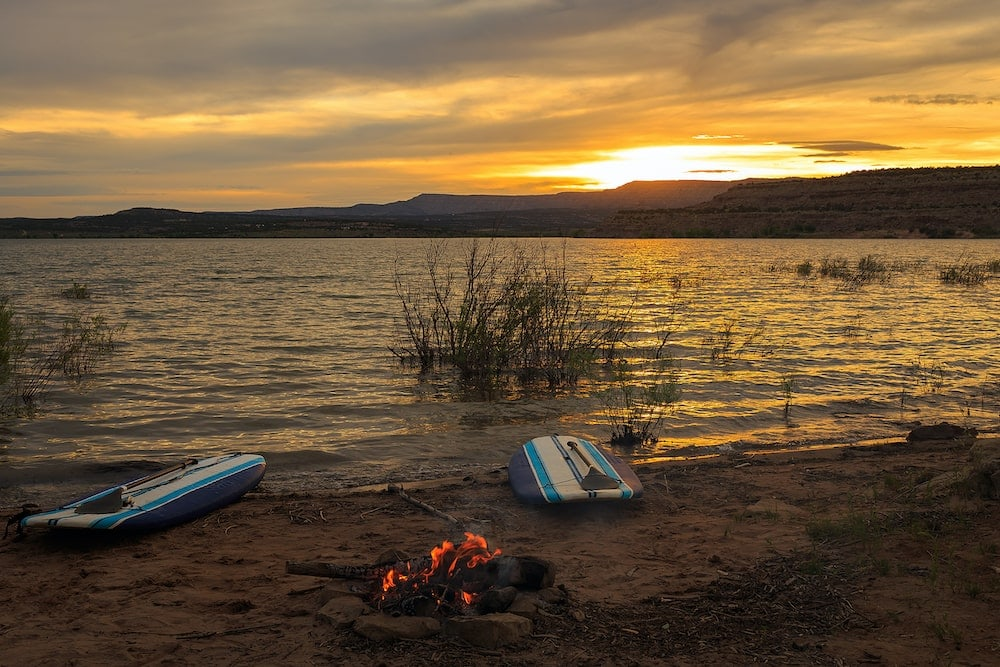 starvation reservoir Utah lake camping