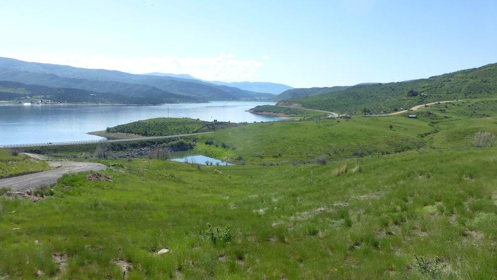rock port reservoir Utah lake camping