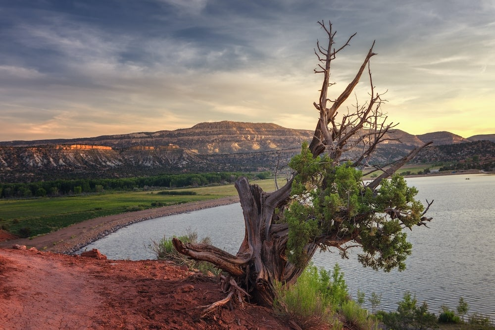 Utah lake camping wide hollow reservoir