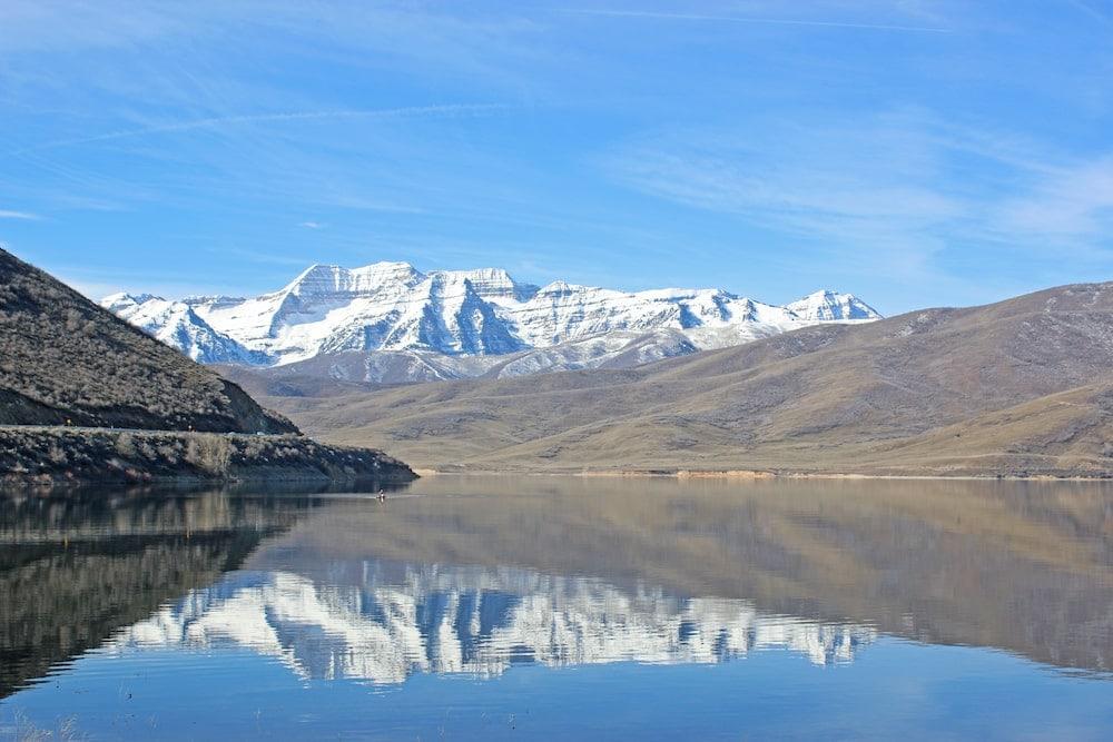 deer creak reservoir Utah lake camping