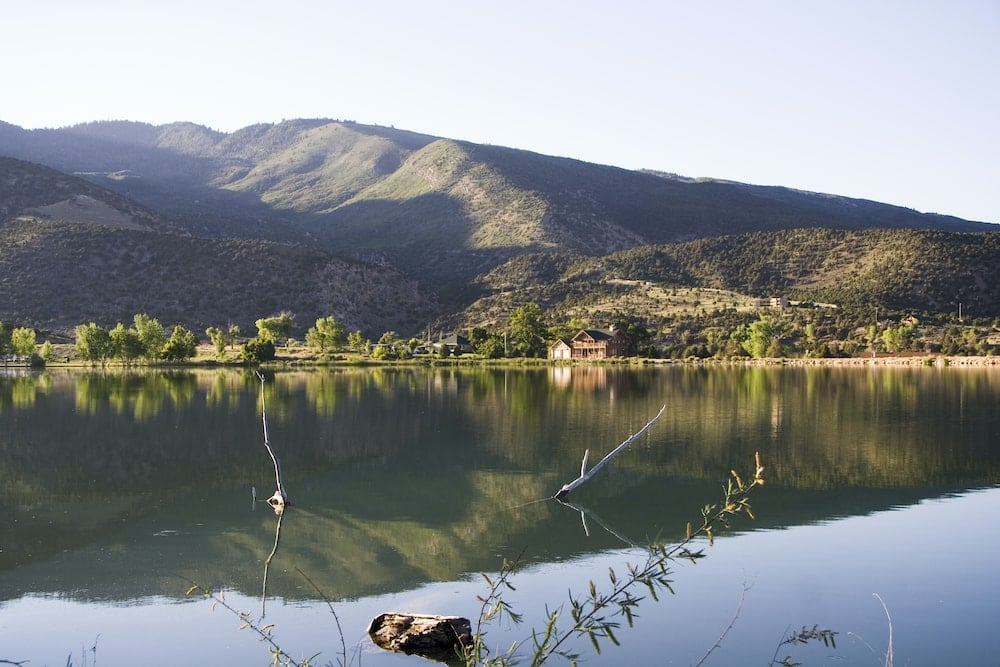 Utah camping palisade lake