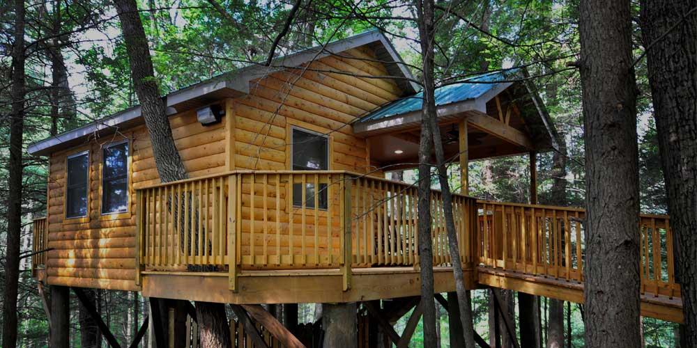 wild treehouse west virginia