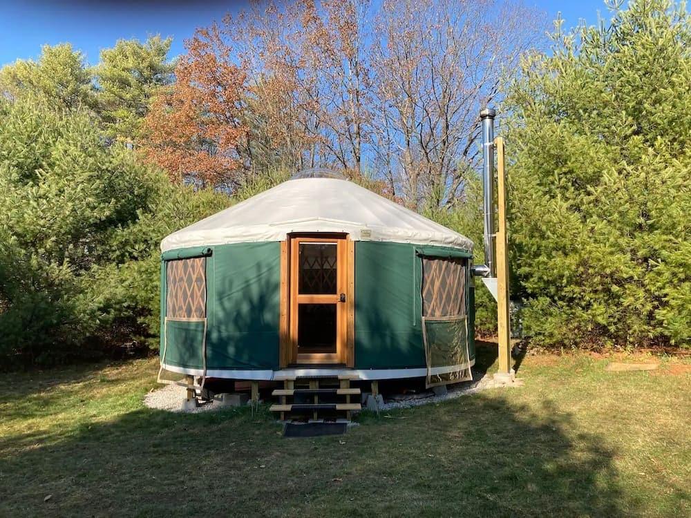 pinedale yurt maine