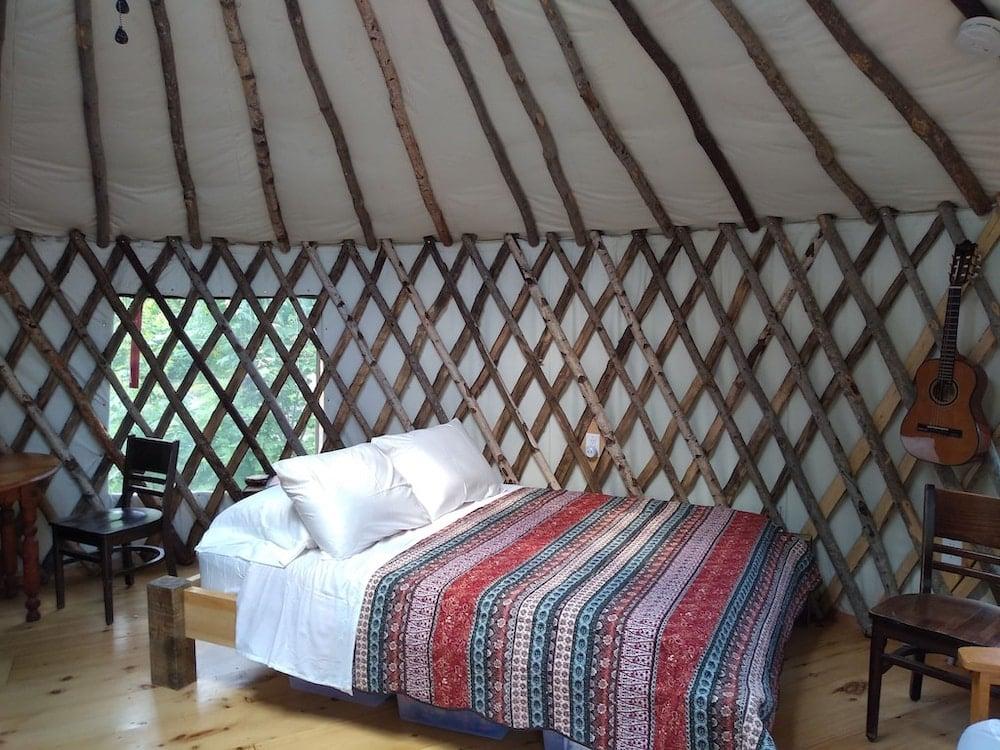 wild acres yurt maine