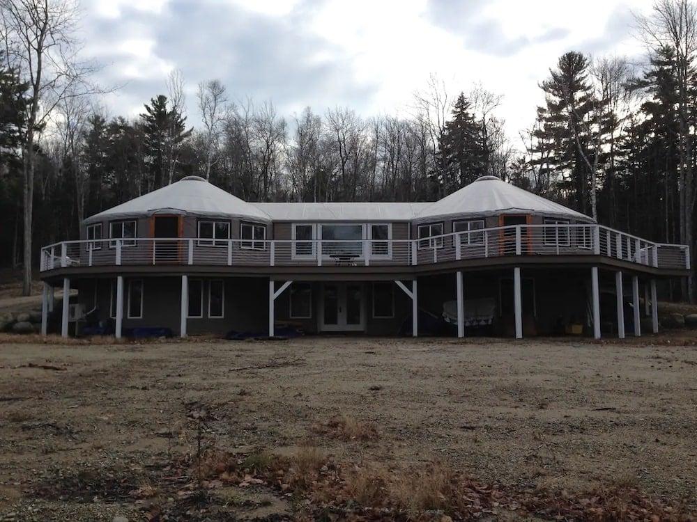 luxury yurt maine