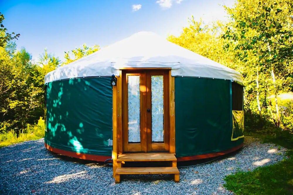 stockton harbor yurts maine