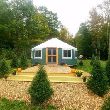 Charming Yurt Rentals in Maine