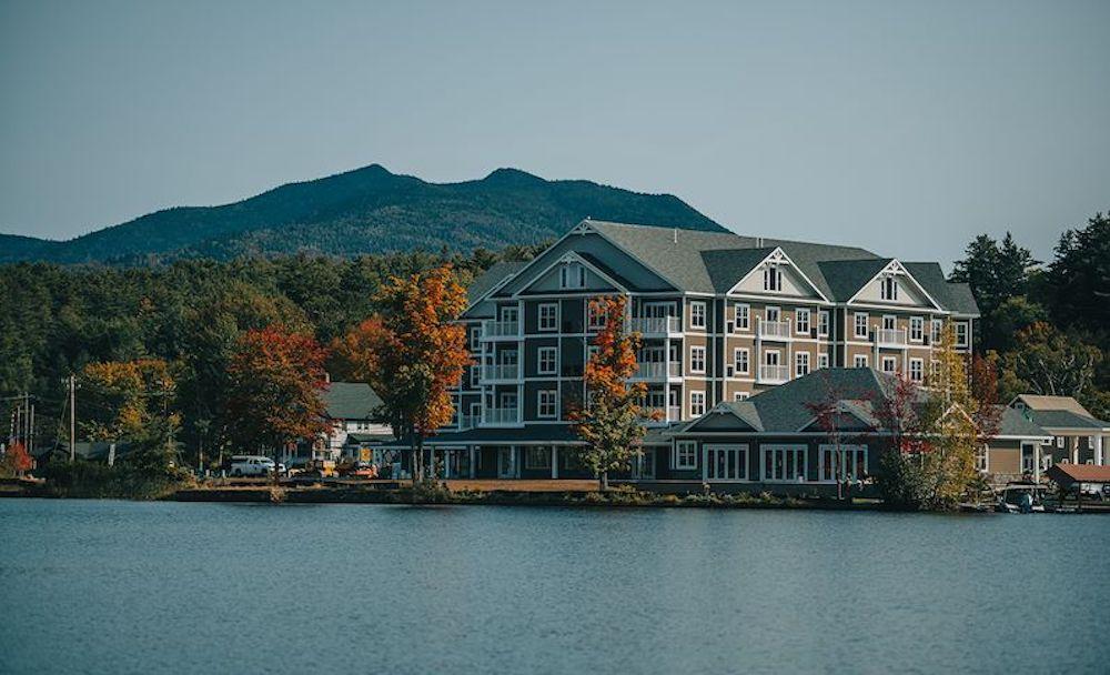Saranac Waterfront Lodge adirondacks