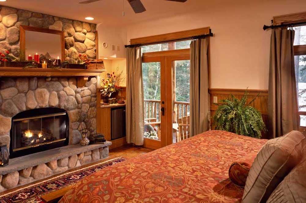 The Fern Lodge adirondacks