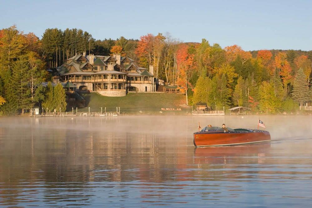 Lake Placid Lodge adirondacks