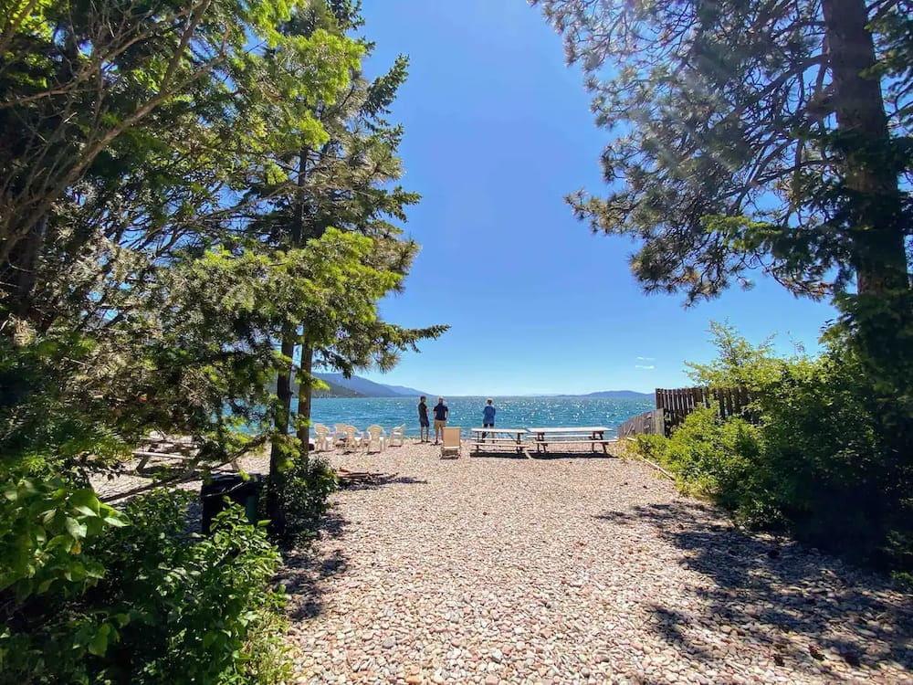 Lakefront Campsite`
