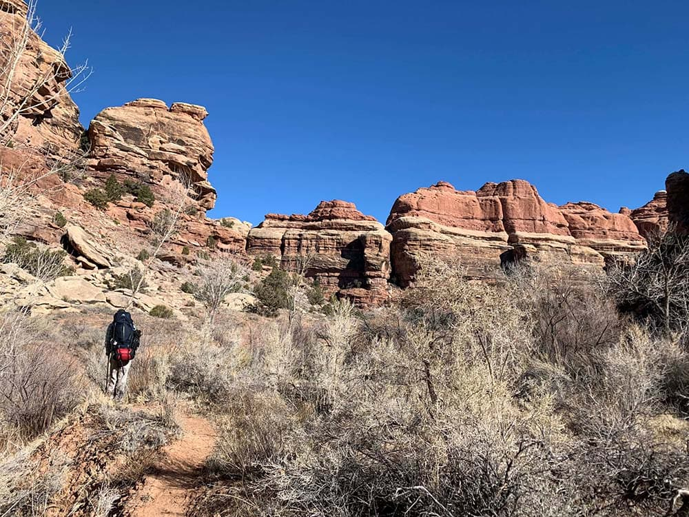 canyonlands np backpacking