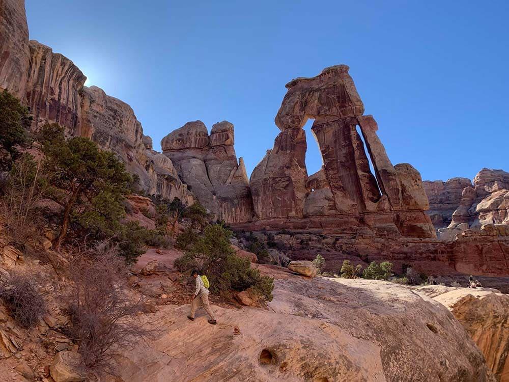 druid arch canyonlands
