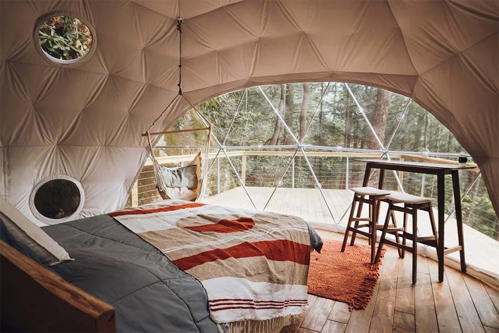 kentucky glamping dome