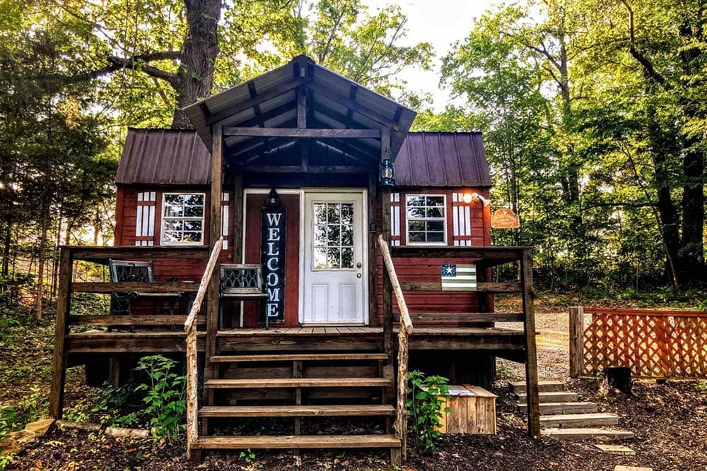 kentucky tiny house glamping