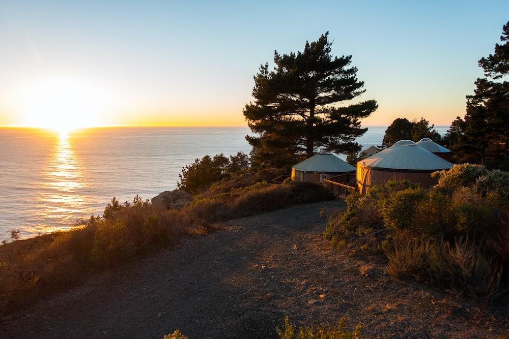 Los Angeles San Francisco road trip big sur camping