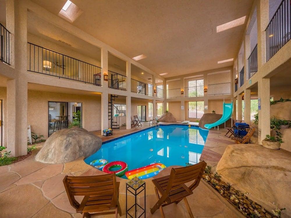 Catalina Foothills Home indoor pools