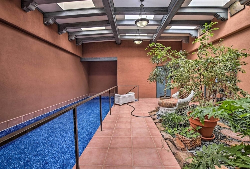 Santa Fe Getaway indoor pools