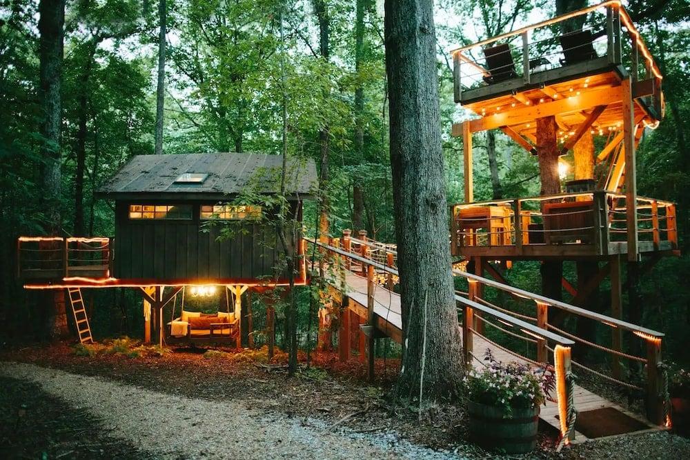 The Majestic Treehouse South Carolina