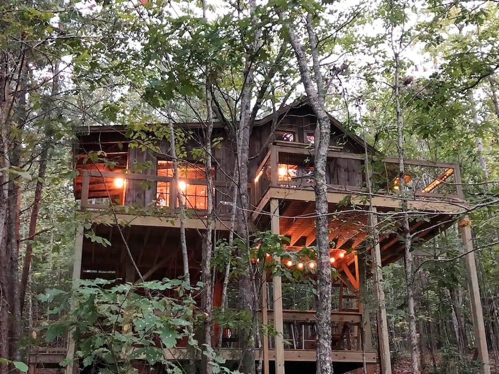 The Stella Vista Romantic Mountain Treehouse South Carolina