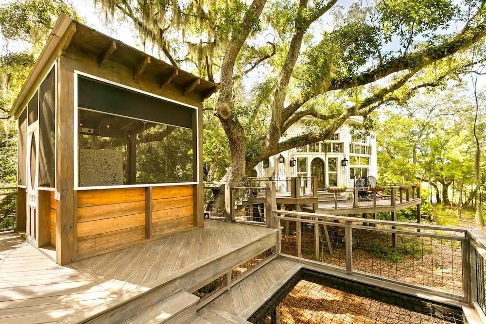 The Honeymoon Treehouse South Carolina