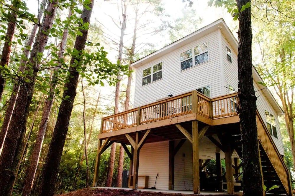 The Tiny House Treehouse South Carolina