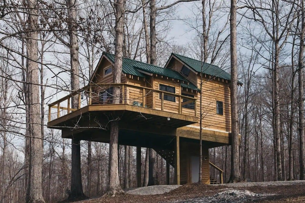 Serenity House Tennessee treehouse