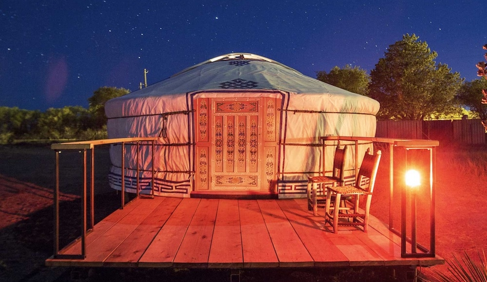 el cosmico yurt texas