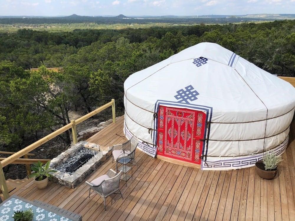 Yurtopia Wimberley Texas