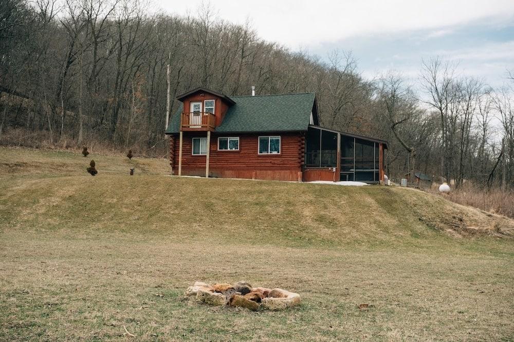 Walnut Creek Cabin Wisconsin