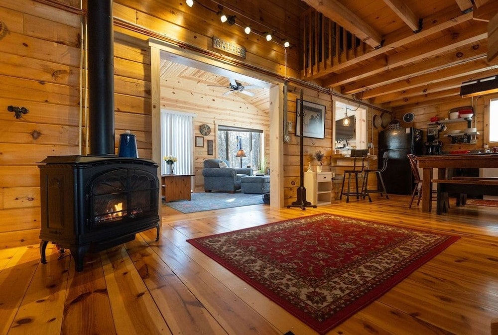 The Cabin on Hidden Creek Wisconsin