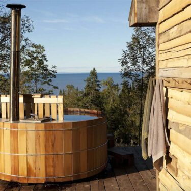 wisconsin cabin rentals with hot tubs