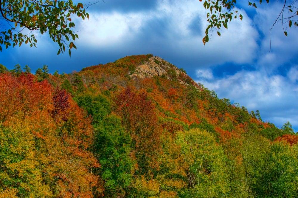 fall foliage in arkansas
