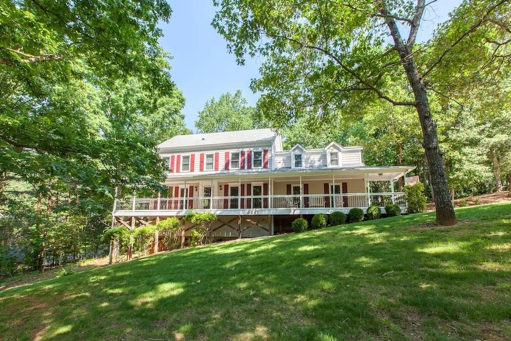 The Hilltop Porch House