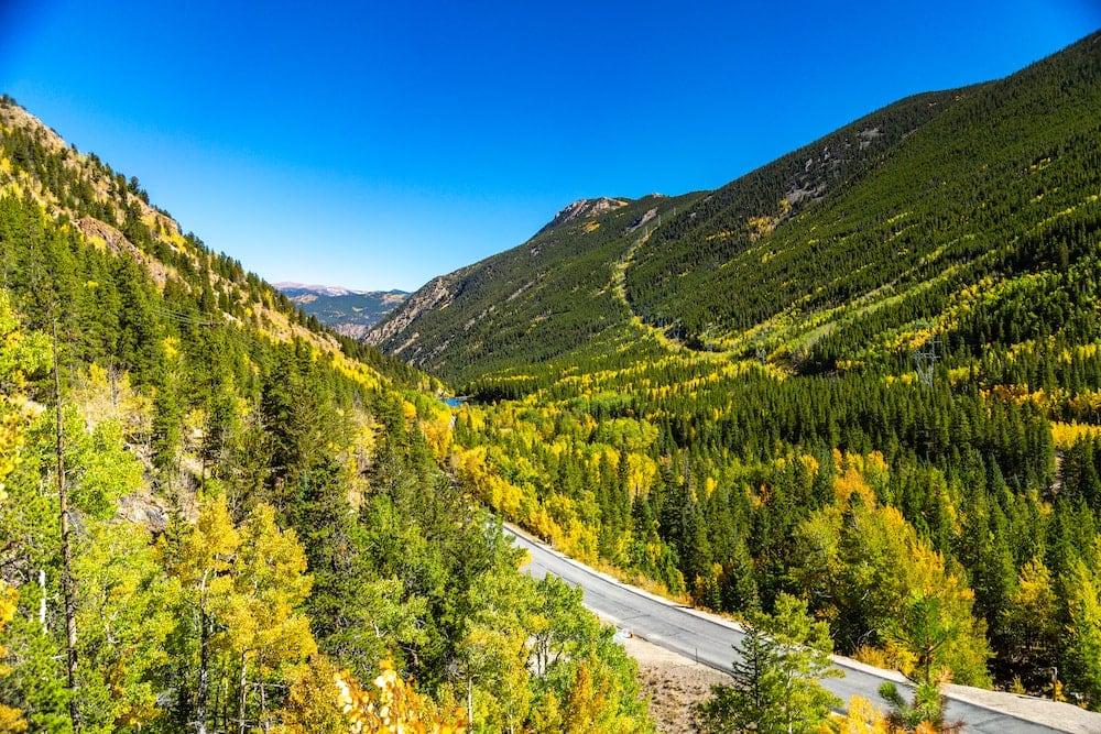 Guanella Pass colorado fall