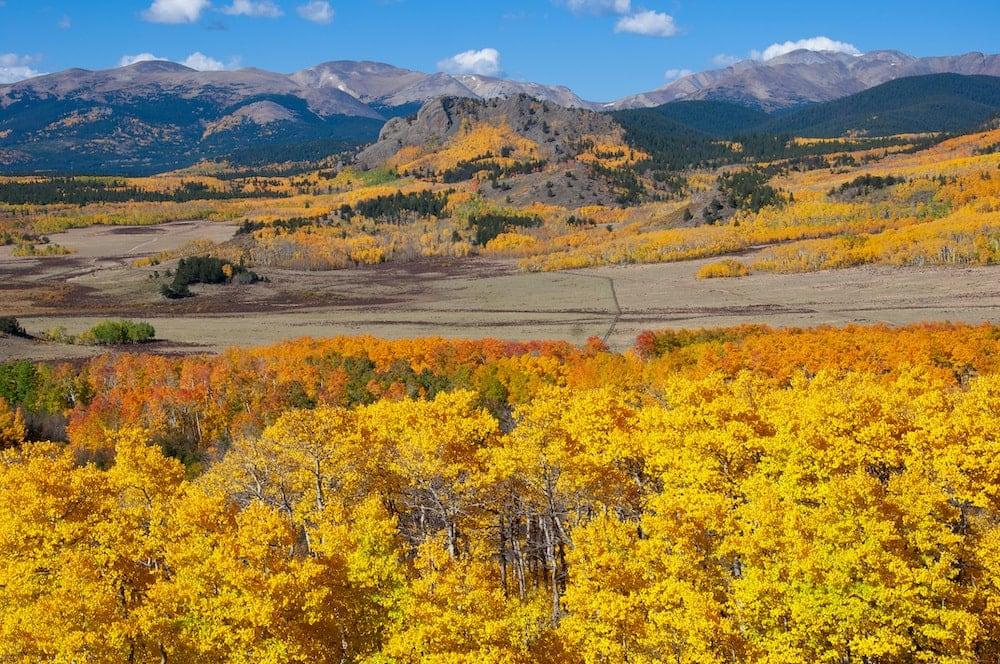 Kenosha Pass colorado fall