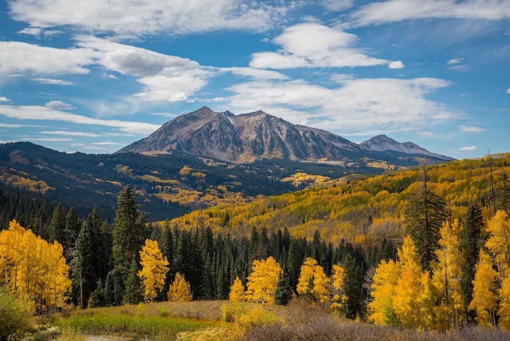 Kebler Pass fall colorado