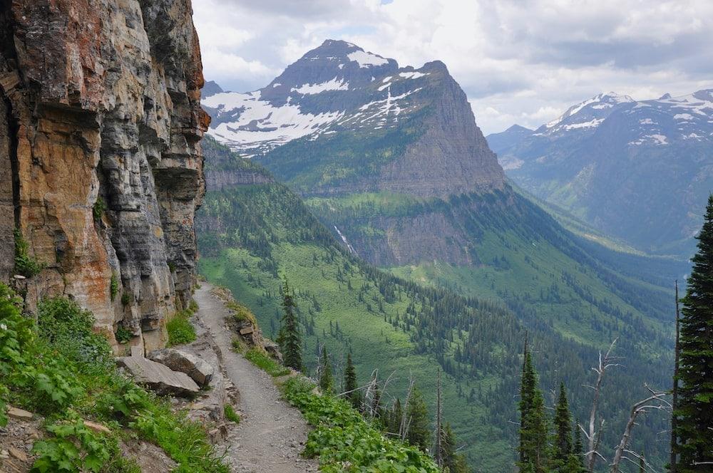 Highline to The Loop glacier national park