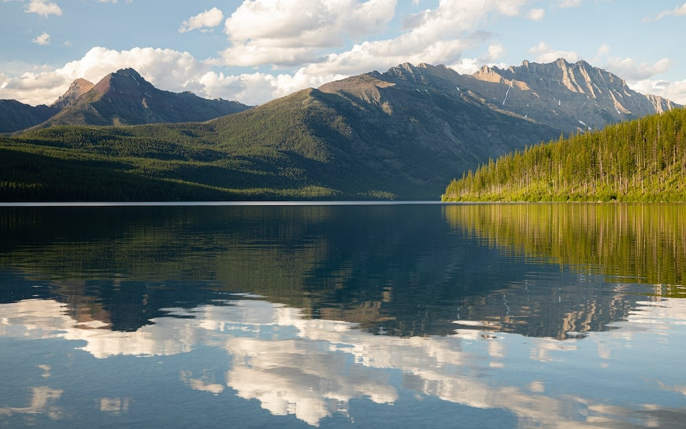 Bowman Pass to Kintla Lake Loop glacier national park