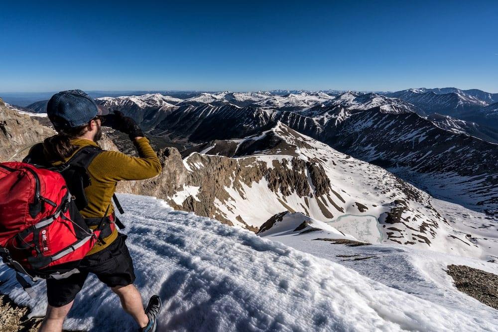 Mount Sniktau and Grizzly Peak Traverse colorado