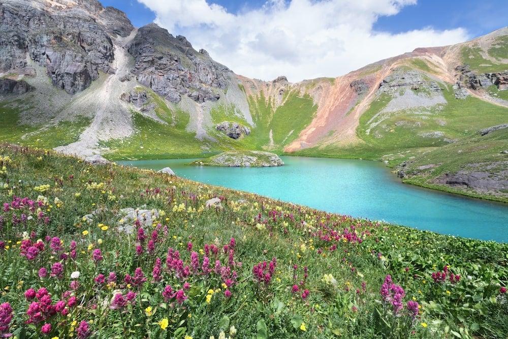 Ice and Island Lake colorado