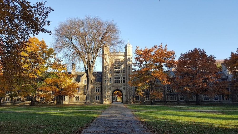 Ann Arbor Michigan fall colors