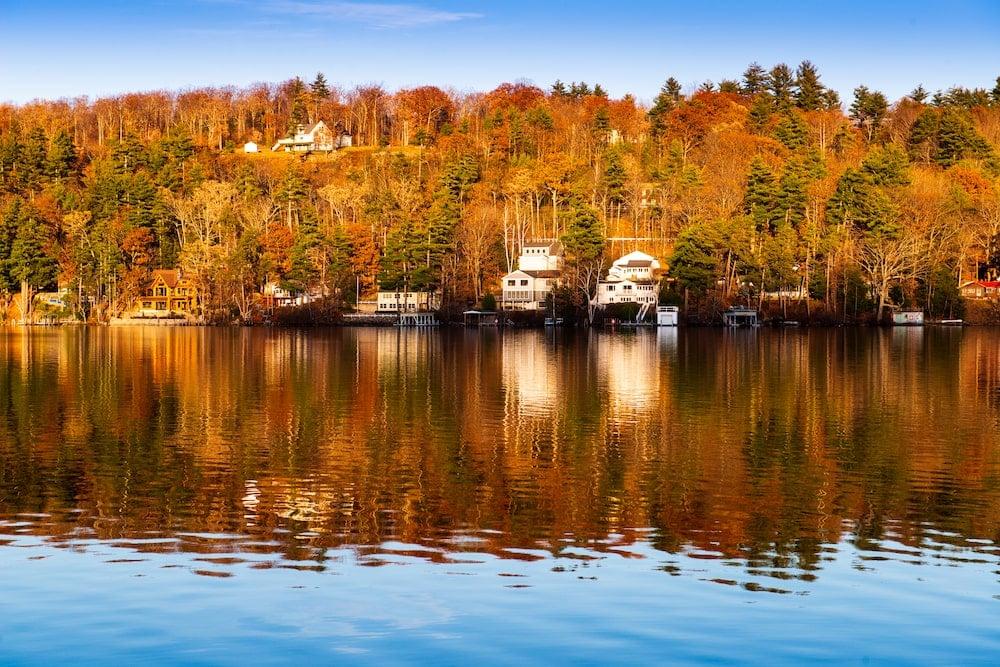 Lake Winnipesaukee New Hampshire fall