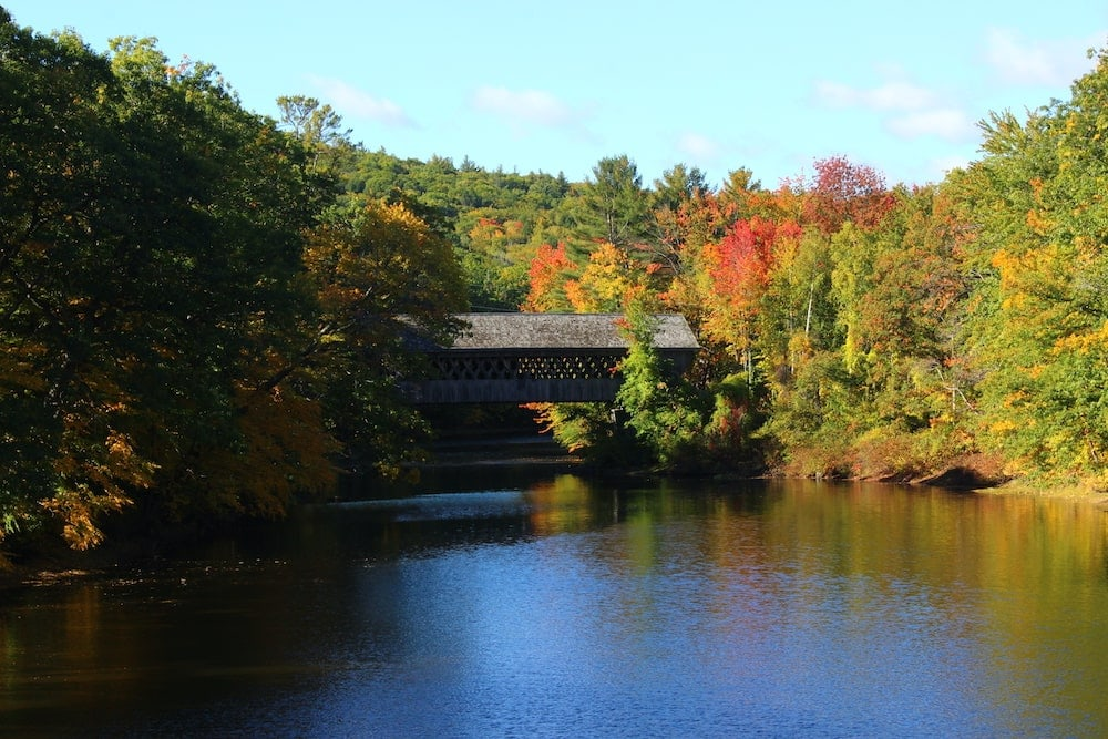 Currier & Ives Scenic Byway New Hampshire fall