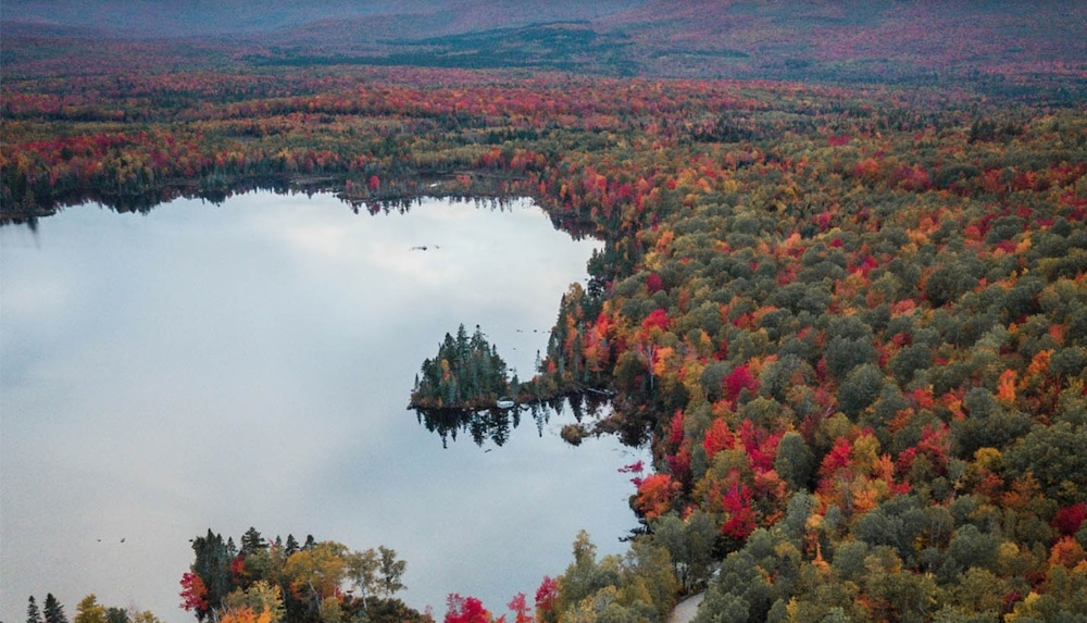 Moose Alley New Hampshire fall