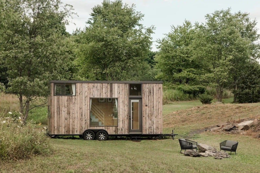 Tiny Orchard Home nyc glamping